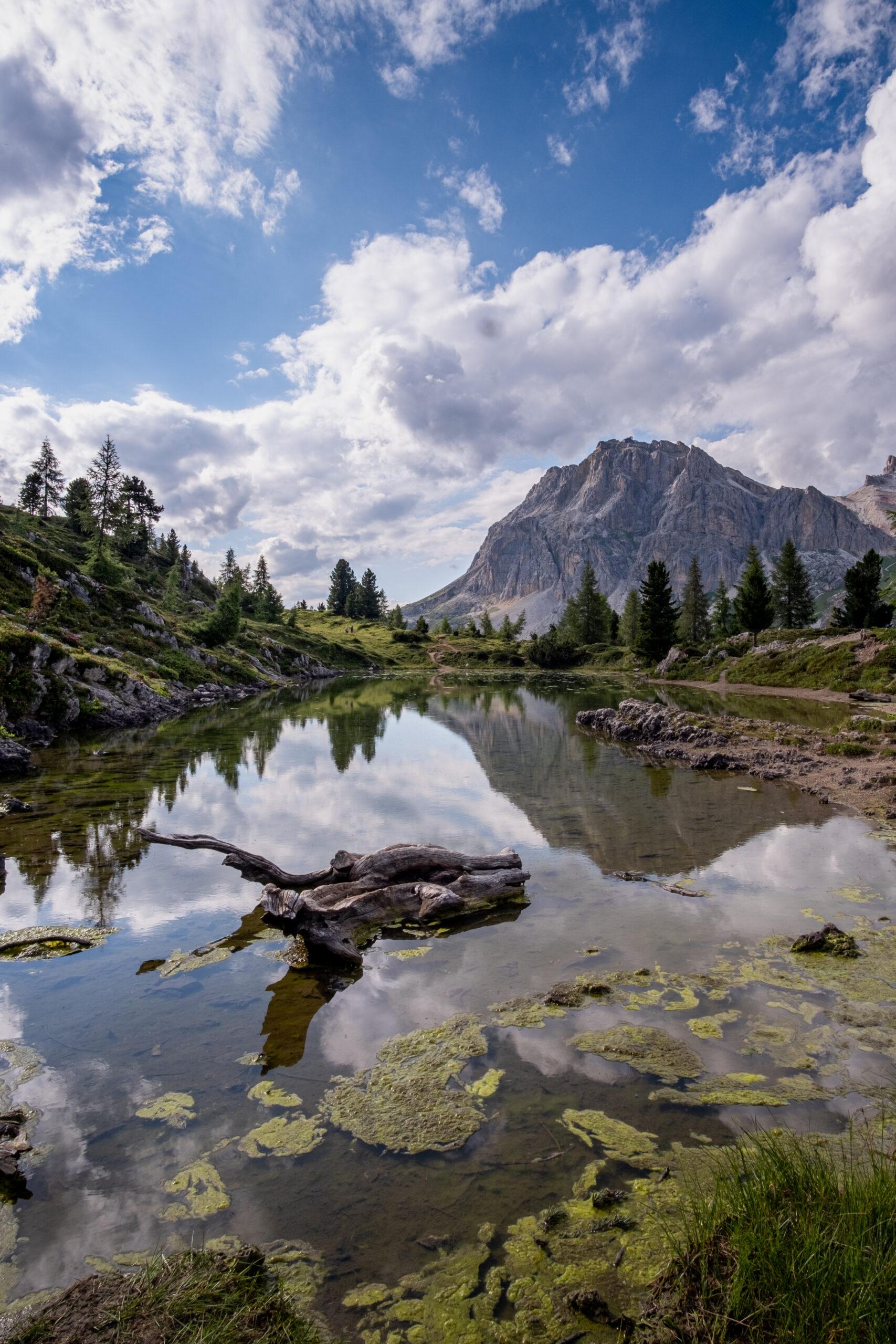 Lago vicino al Falzarego